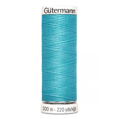 Blue sewing thread Gütermann 714