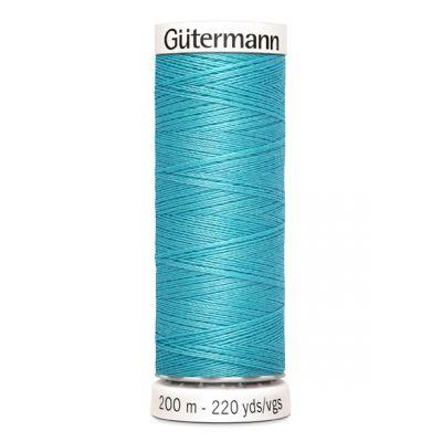 Fil à coudre bleu Gütermann 714