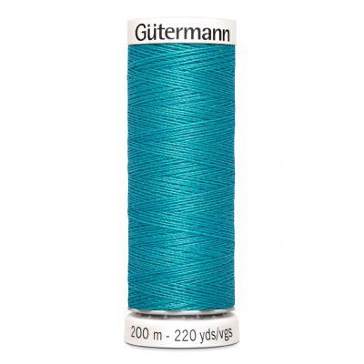 Blauwe naaigaren Gütermann 715