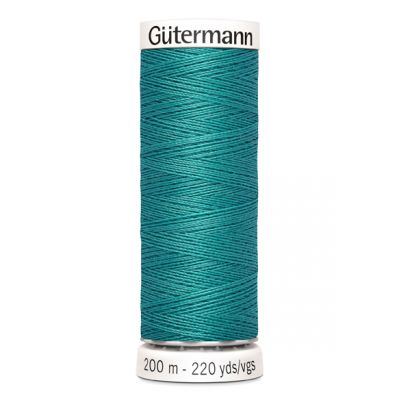 Blauwe naaigaren Gütermann 107