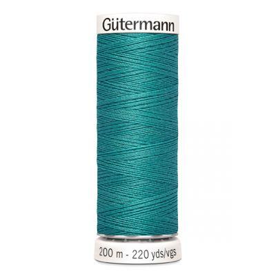 Fil à coudre bleu Gütermann 107