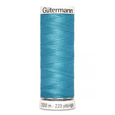 Fil à coudre bleu Gütermann 385