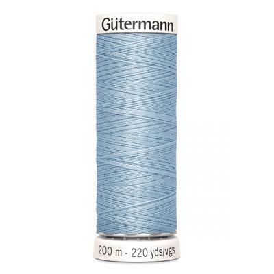 Blauwe naaigaren Gütermann 75