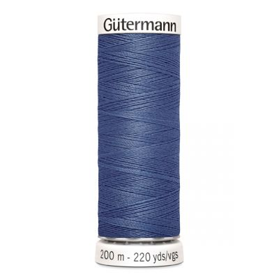 Blauwe naaigaren Gütermann 112