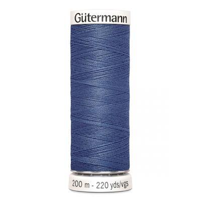 Fil à coudre bleu Gütermann 112