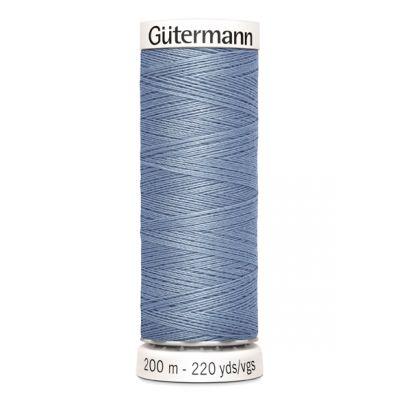 Blauwe naaigaren Gütermann 64