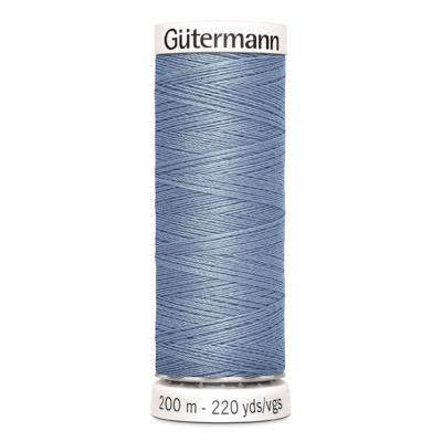 Fil à coudre bleu Gütermann 64