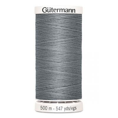 Fil à coudre gris 500m Gütermann 40