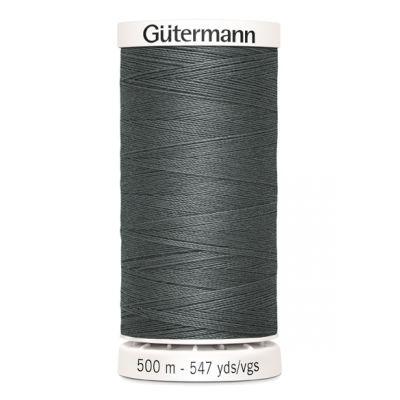 Fil à coudre gris 500m Gütermann 701