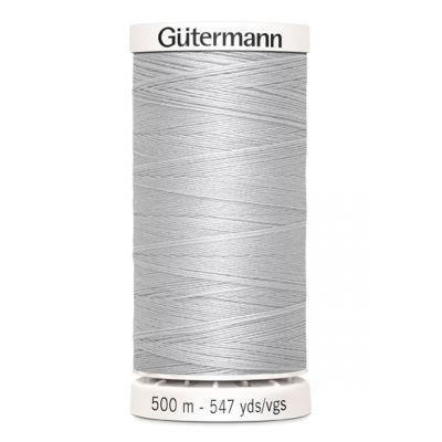 Fil à coudre gris 500m Gütermann 8