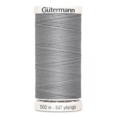 fil à coudre gris 500m Gütermann 38