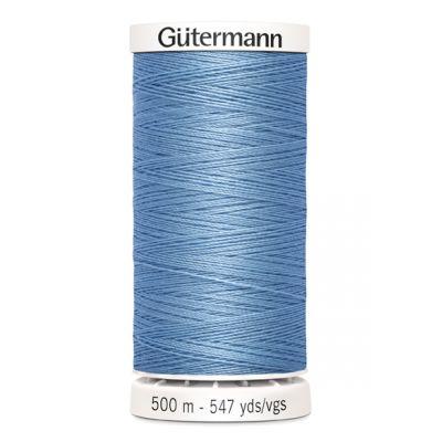 fil à coudre bleu 500m Gütermann 143