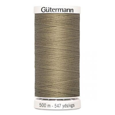Fil à coudre beige 500m Gütermann 464