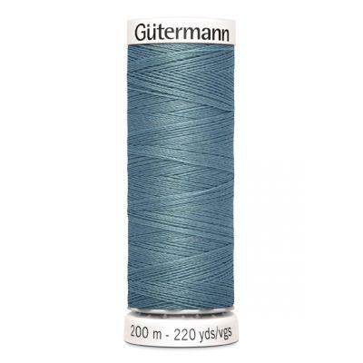 Blauwe naaigaren Gütermann 827