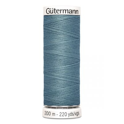 Blue sewing thread Gütermann 827