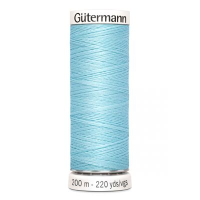 Blauwe naaigaren Gütermann 195