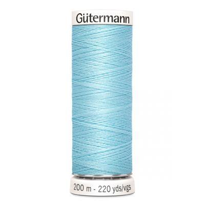 Fil à coudre bleu Gütermann 195