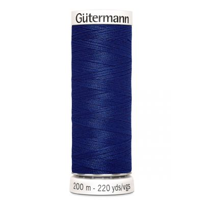 Blauwe naaigaren Gütermann 232