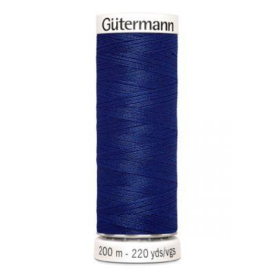 Fil à coudre bleu Gütermann 232