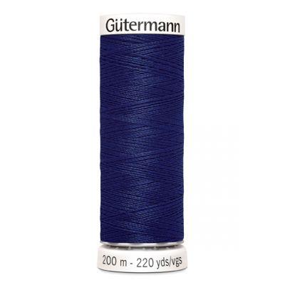 Blauwe naaigaren Gütermann 309