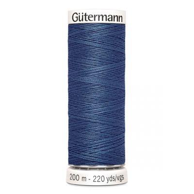 Blauwe naaigaren Gütermann 435