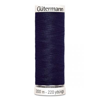 Blauwe naaigaren Gütermann 339