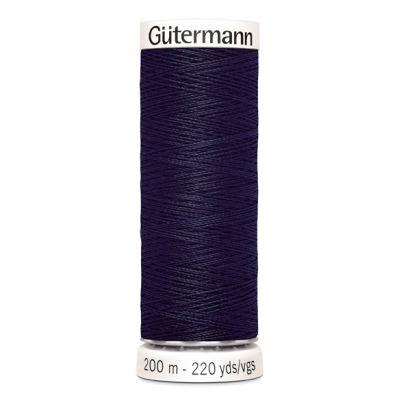 Blauwe naaigaren Gütermann 387
