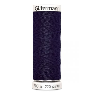 Blue sewing thread Gütermann 387