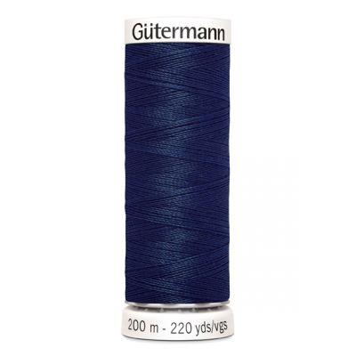 Blauwe naaigaren Gütermann 11