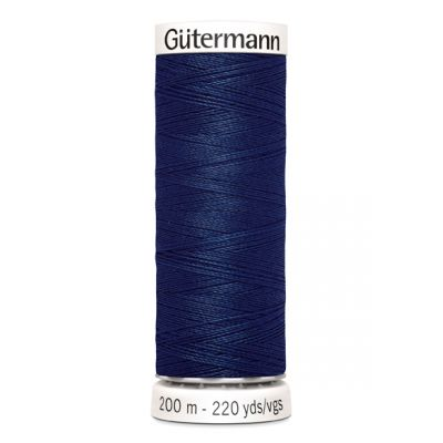 Fil à coudre bleu Gütermann  13