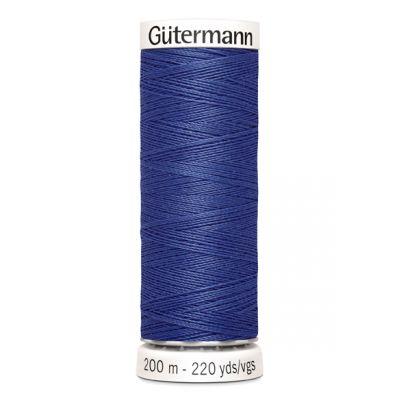 Fil à coudre bleu Gütermann 759