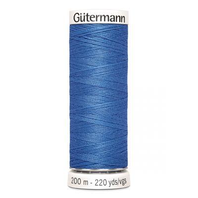Fil à coudre bleu Gütermann 213