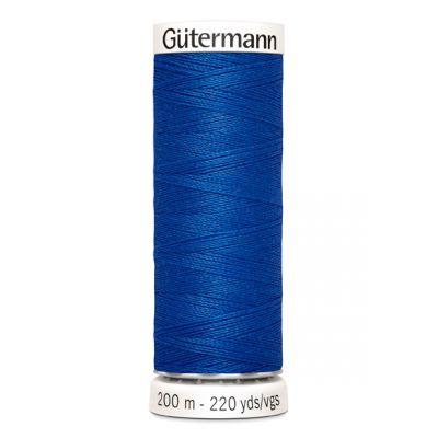 Blauwe naaigaren Gütermann 315