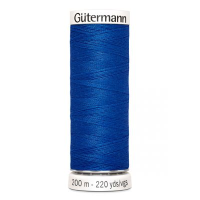 Blue sewing thread Gütermann 315