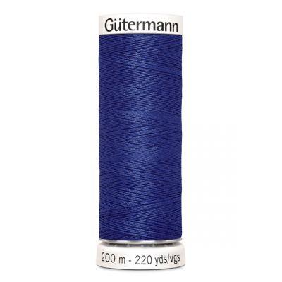 Fil à coudre bleu Gütermann 218