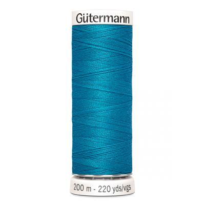 Fil à coudre bleu Gütermann 761