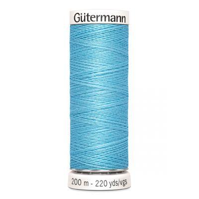 Fil à coudre bleu Gütermann 196