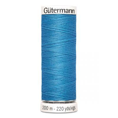 Fil à coudre bleu Gütermann 278