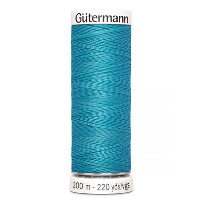 Fil à coudre bleu Gütermann 332