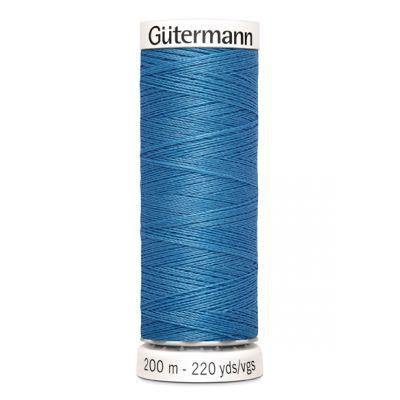 Blue sewing thread Gütermann 965
