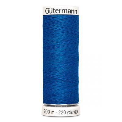 Blauwe naaigaren Gütermann 322