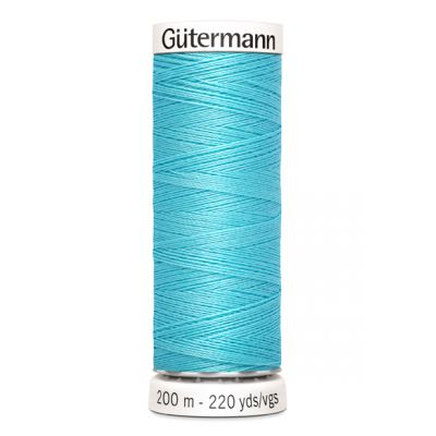 Fil à coudre bleu Gütermann 28