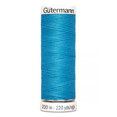 Blue sewing thread Gütermann 197
