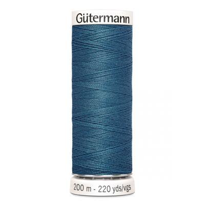 Blauwe naaigaren Gütermann 903