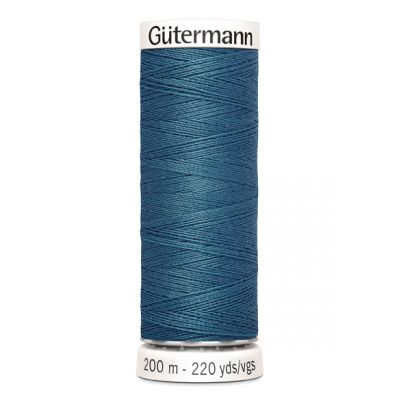 Fil à coudre bleu Gütermann 903