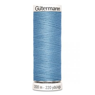 Blauwe naaigaren Gütermann 143