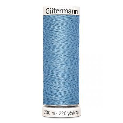 Fil à coudre bleu Gütermann 143