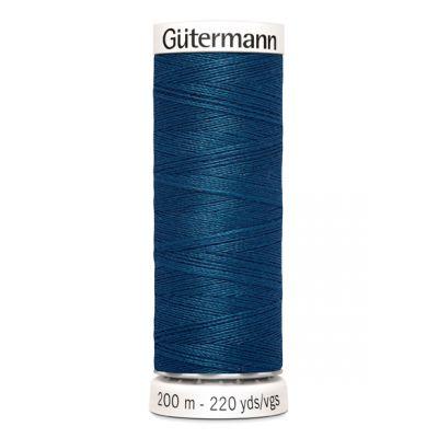 Blauwe naaigaren Gütermann 904