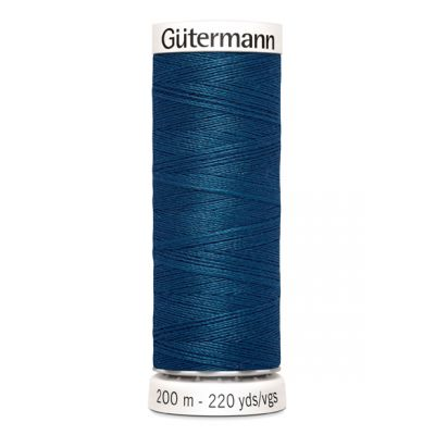 Blue sewing thread Gütermann 904
