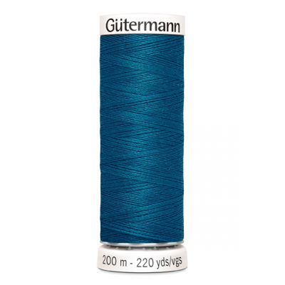 Blauwe naaigaren Gütermann 483